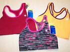 Lot of 3 Champion B9504 Absolute Racerback Sports Bra with SmoothTec Band