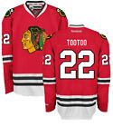 Jordin Tootoo Chicago Blackhawks Home Red Premier Jersey by Reebok