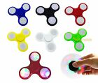Внешний вид - LED Light Up Fidget Spinner Hand Spinner Toy EDC Anxiety Stress Reliever ADHD