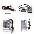 3key 17 24 44 Key USB Remote Controller For 5V 5050 RGB LED Strip Light TV Back