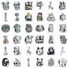 925 European Sterling Animals Silver Charms Bead For Bracelet Chain Necklace Us9