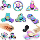 Rainbow Fidget Hand Spinner Finger EDC Focus Stress Reliever Toys Fr Kids Adults