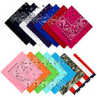 WHOLESALE LOT BANDANA PAISLEY 6~360 PCS 100% COTTON 2 SIDE PRINT HEAD SCARF