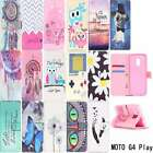 NEW LEATHER FLIP WALLET POUCH PHONE CASE COVER For Motorola Moto G4 Play
