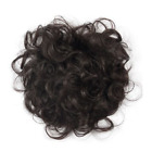 "6"" Fluffy Natural Wave Real Human Hair Clip in Toppers for White and Thin Hair"