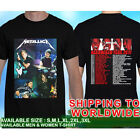 METALLICA WorldWired Live in Concert Tour Dates 2017 #17 T-Shirt Tees Size S-5XL