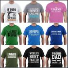 Grandpa t-shirt Father's Day Best Funny Gift Birthday For SuperHero Papa M...