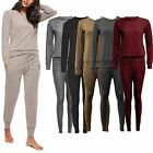 Womens Ladies Loungewear Set Sweatshirt Joggers Tracksuit Pants Jumpsuit Dress