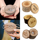 Внешний вид - New Fashion Wooden Rustic Shabby Chic Wedding Ring Box Bearer + Ring pillow