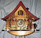 New HAND CRAFTED ENGSTLER Original BLACK FOREST Cuckoo & Musical Clock