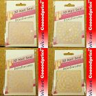 3D Nail Art Seal Beautiful Flowers Nail/Toe Stickers Pack Party & Ladies 01-1720