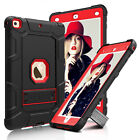 Shockproof Rubber Hard Kickstand Case Cover For Apple iPad 9.7 Inch 2017 5th Gen