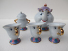 Hot Beauty And The Beast Teapot Cartoon Mug Mrs Potts Chip Tea Pot Cup Set Gift
