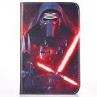 Flip Stand Star Wars Leather Cover Back Soft Case For Samsung Galaxy Tablet PC
