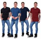 New Mens T-shirt by Malay Apparel Plain Casual Wear Regular Fit cotton Tees