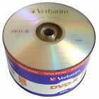 50 Pack DVD-R Branded Logo Blank Recordable Disc + 50 Paper Sleeves w/ Window