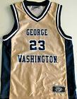 GEORGE WASHINGTON COLONIALS YOUTH BASKETBALL JERSEY NCAA #23 NEW! YOUTH M OR XL