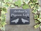 Grandad's Dad's Pigeon Loft  Slate Plaque Garden Sign 17 x 13cm or Personalised