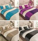 DUVET COVER BED SETS Embroidered 5 piece quilt cover sets in double or king size