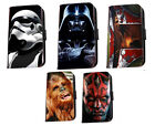 Star Wars Darth Vader Boba fett trooper leather phone case Iphone Samsung HTC LG £8.9 GBP