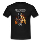 Iron Maiden Ghost North America Tour 2017 Men's Black Tshirt Size S to 5XL