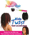 """UK: Crochet for Kids Senegalese Twist Braid. Lightweight and Short 10"""" inches"""