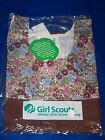 Vintage Retro Brown/Floral Girl Scout/Brownie Uniform Jumper Dress Brand New