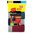 12 Hanes Men's TAGLESS Boxer Briefs with Comfort Flex® Waistband 2349Z6