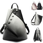 Women's Faux Leather Gradient Backpack Rucksack Daypack Travel bag Purse Cute