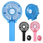 Persoanl Portable Mini USB 3 Speed Handheld Cooling Fan with 2200mAh Battery