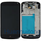 For LG Google Nexus 4 E960 LCD Display + Touch Screen Digitizer Assembly + Frame