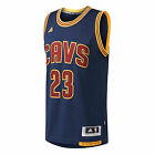 adidas Cleveland Cavaliers Swingman NBA Jersey #23 LeBron James Navy Blue