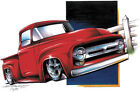 Ford '53-'56 Pickup F100 Hot Rod Truck T-shirt Small to 5XL
