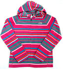 The North Face Girls Striped Glacier Mädchen Jacke Fleecejacke linariapink M,XL