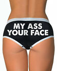NEW Aesop Originals WOMENS Boy Briefs UNDERWEAR MY ASS YOUR FACE SMALL-XLARGE