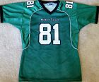 NORTH TEXAS MEAN GREEN YOUTH NCAA FOOTBALL JERSEY #81 YOUTH LARGE OR XL NEW!