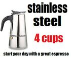 Stovetop Coffee Maker 4/6 CUP Stainless Steel Cuban Espresso Percolator cafetera cheap