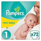 Pampers Premium Protection Baby Nappies Diapers Size 0 1 2 3 4 5 6 Monthly Pack