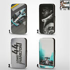 LEWIS HAMILTON F1 RACING DRIVER PU LEATHER WALLET FLIP CASE COVER FOR IPHONE