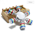 Star Hexagon Colorful Fidget Spinner Finger Anxiety EDC Focus ADHD Hand Gyro Toy