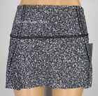 NEW LULULEMON Lost In Pace Skirt TALL 6 Daisy Dust Alpine White Black FREE SHIP