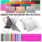 "2016 Mac Hard Case Shell+Keyboard Cover For Apple Macbook Pro 13"" Touch Bar New"