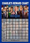 Dr WHO Re-usable Behaviour Reward Chart (incl FREE Star Stickers and Pen)