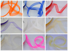 Organza Sheer Ribbon 50mm x 20m Full Reel or Cut Length - Choose Colour & Length