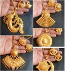 Indian 22K Gold Plated Bridal  Necklace 8' 'Pendant Earrings Variations Set