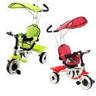 Kids Child Ride On Trike Tricycle 3 Wheel 4 In 1 Bike Parent Handle Baby Infant