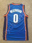 Russell Westbrook Oklahoma City Thunder Swingman Sewn On Jersey Size S XL NWT
