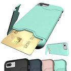 For iPhone X 7 8 Plus Shockproof Rugged Hybrid Rubber Protective Hard Case Cover