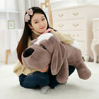 Giant Plush Stuffed Animals Lying Dog Toys Big Soft Sleeping Puppy Dogs Doll