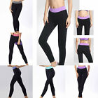 Sale Women New Sports Yoga Gym Leggings Athletic Pants Soft Tight Trousers
